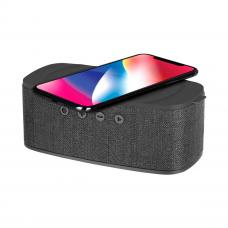 MOMAX Q.ZONIC Wireless Charging Bluetooth Speaker Grey (QS1A)