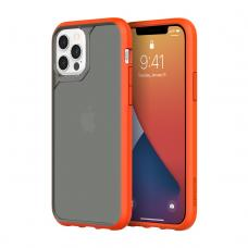 Griffin Survivor Strong for iPhone 12 & 12 Pro - Griffin Orange/Cool Gray