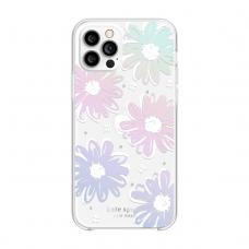 Kate Spade New York for iPhone 12 & 12 Pro - Daisy Iridescent Foil/White/Clear/Gems