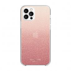 Kate Spade New York for iPhone 12 & 12 Pro - Glitter Ombre Sunset Pink/Multi