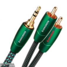AudioQuest Evergreen 1.5 м 3.5 мм (mini-jack) - 2 RCA (EVERG01.5MR)