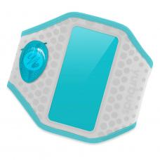 Yurbuds iPhone 5 Ergosport LED Armband Gray/Aqua for women (YBWNARMB02GNA)